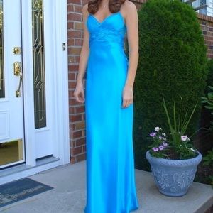 Silk Prom Gown